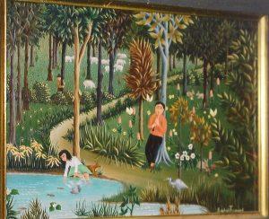 (21)- photo. Le Joueur de flûte ou la flûte enchantée-1968. hsb 19x27cm.