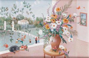 (234)-Bouquet aux Papillons