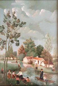 (256)- Dans le Marais Vendéen – Raphaël Toussaint – Octobre 1975 – 5P