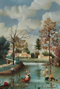 (278)- L'étang de la brande 1976