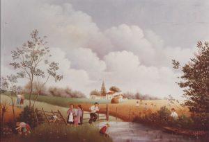 (378)- La Mare au champ de blé, 1978