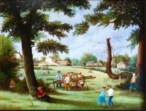 (600)-À l'ombre, dans la Prairie des grands chênes.pg