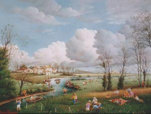 (816)-Le Canal des Hollandais-La Plaine de Luçon-2002