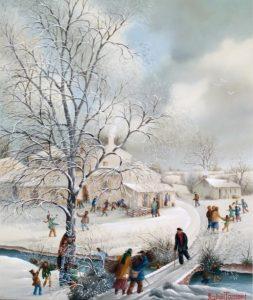 (847)-Ambiance hivernale sur la Chabotterie-2009